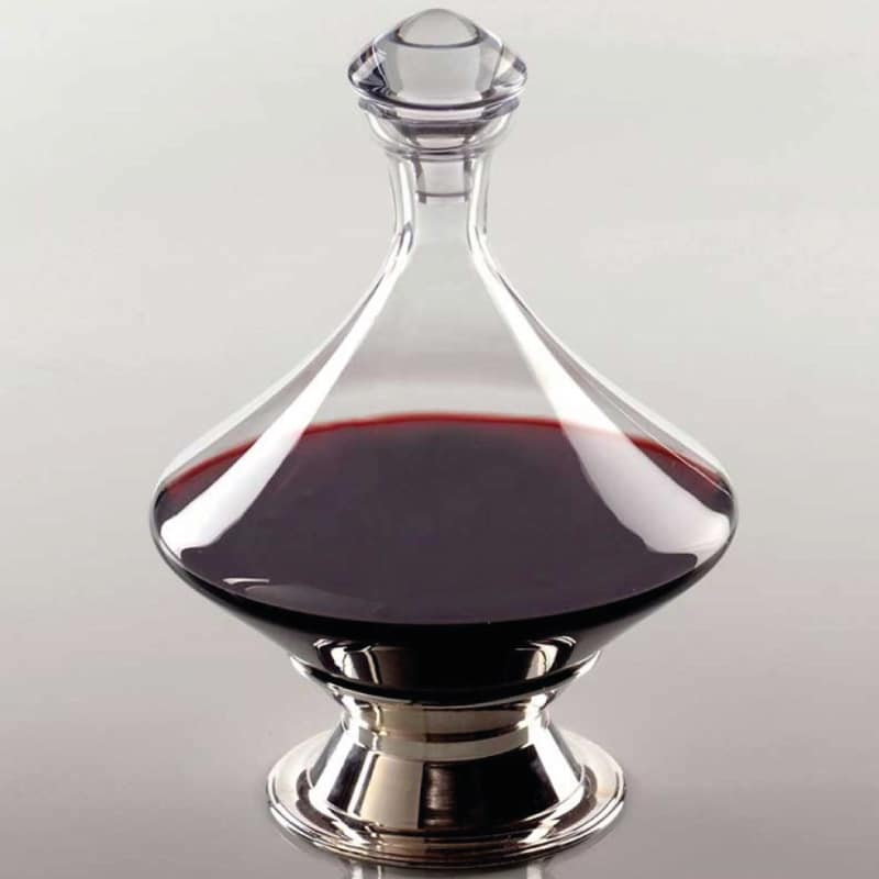 Diamond turn decanter wine gift centre for Wine carafes and decanters