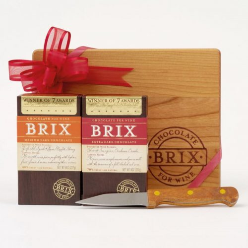 Chocolate-for-Wine-Brix-Two-Piece-Gift-Set-with-Board-and-Knife-Dark-Chocolate