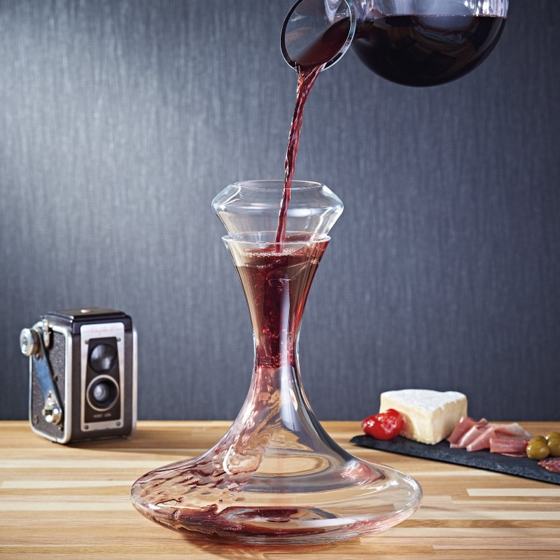 Classico wine aerator and decanter set wine gift centre for Wine carafes and decanters