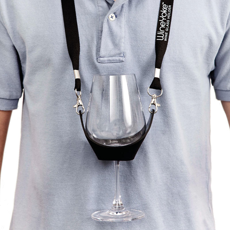 Wine Glass Holder Necklace Wine Gift Centre