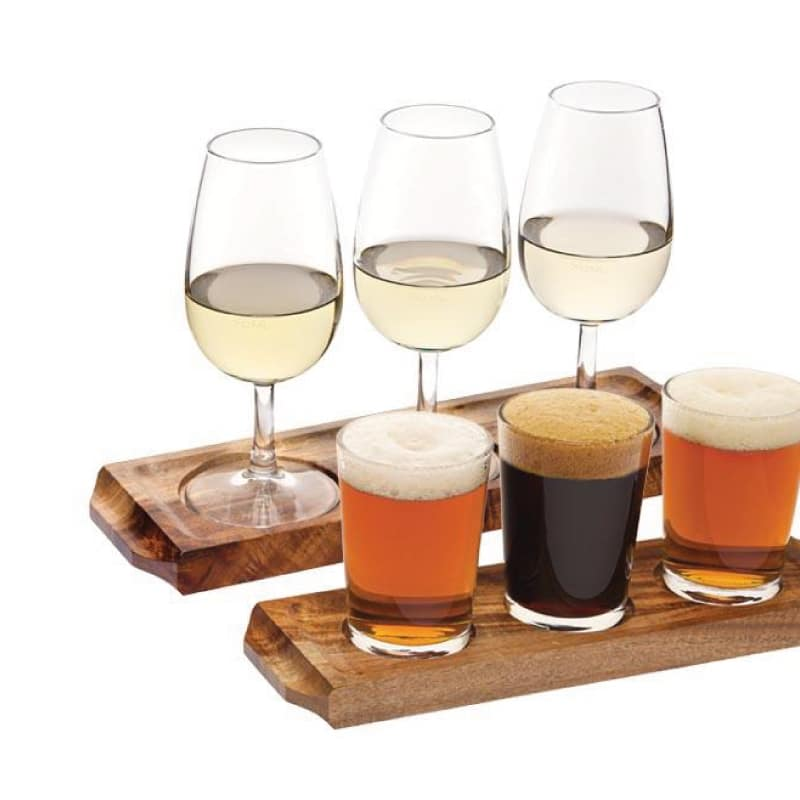 Wooden Wine Beer Flight Paddle Wine Gift Centre