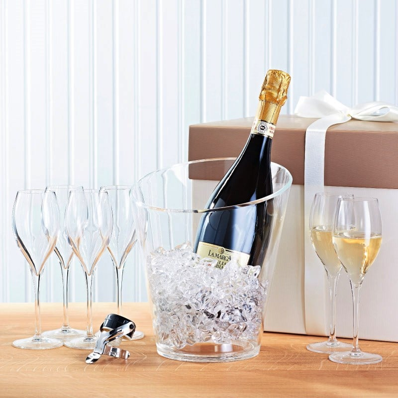 Best Wine For Wedding Gift: Prosecco Gift Set